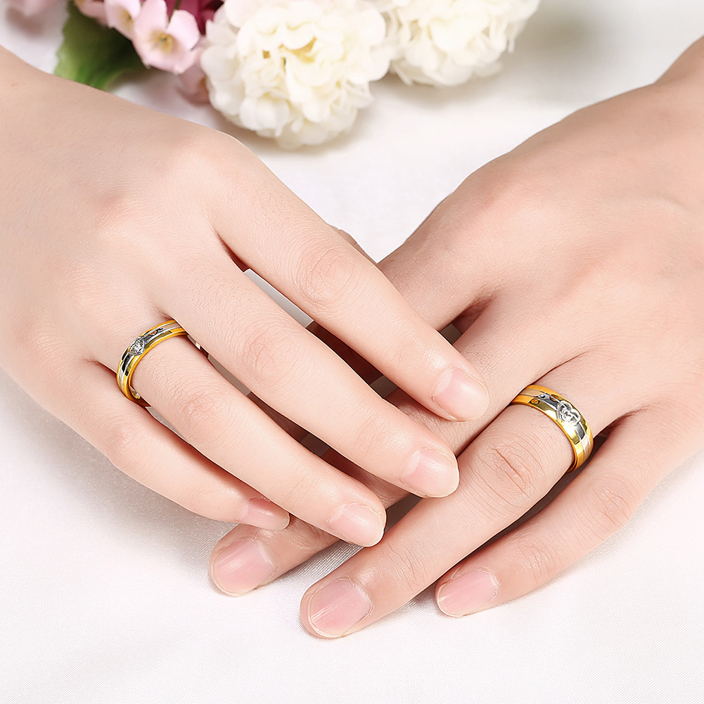 Gold band designs