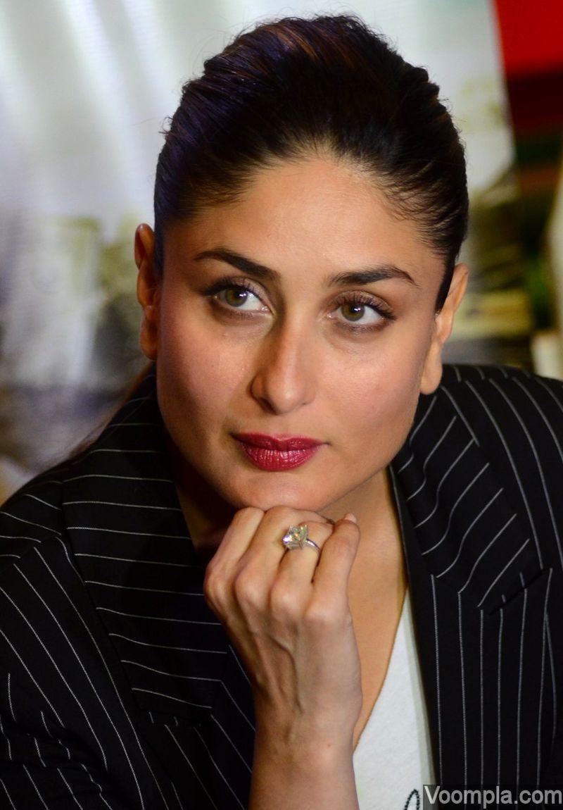 Kareena Kapoor Khan in Solitaire ring designs