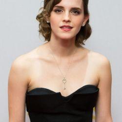 Emma Watson in Solitaire pendant designs