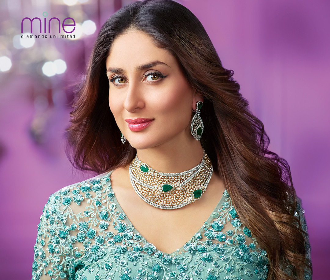 Kareena Kapoor Khan in diamond necklace designs