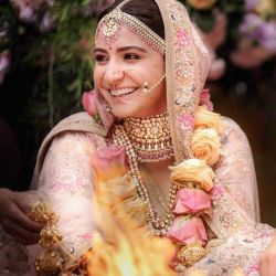 Anushka Sharma in wedding jewellery