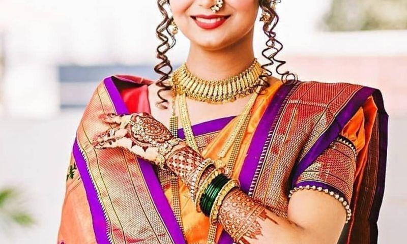 Wedding Jewellery For Maharashtrian Bride