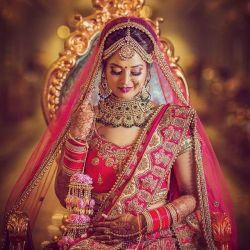 Wedding jewellery for punjabi bride