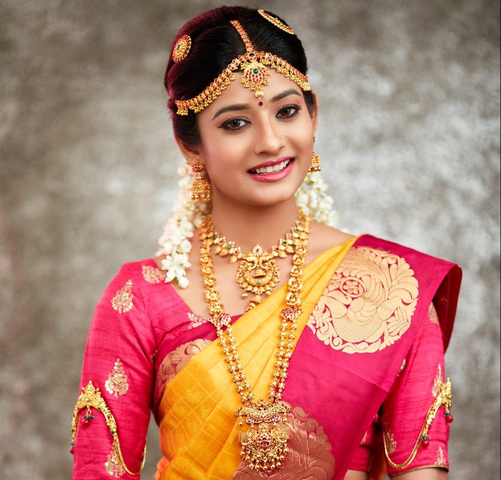 Wedding Jewellery for Tamil Bride