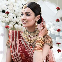 Wedding Jewellery for Gujarati Bride