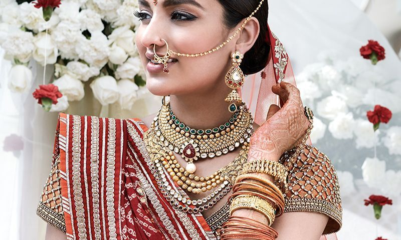 Wedding Jewellery for Gujarati Bride