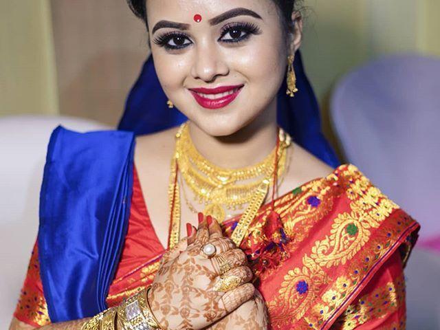 Wedding Jewellery for Assamese Bride