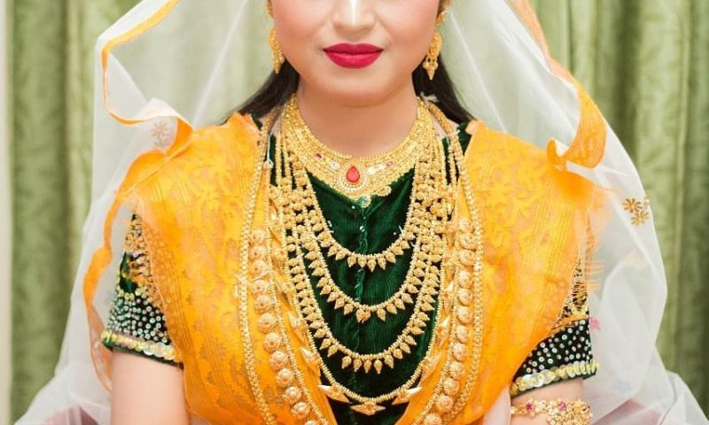 Wedding Jewellery for Manipuri Bride
