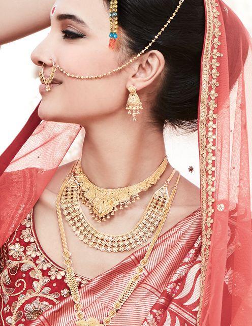 Wedding Jewellery for Odiya Bride
